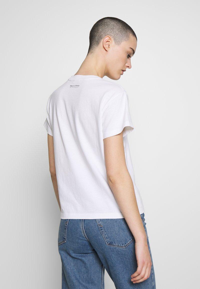 Marc O'Polo SHORT SLEEVE - T-shirt con stampa - white qVwb8L per la promozione
