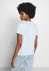 Marc O'Polo - SHORT SLEEVE - Print T-shirt - light blue - 2