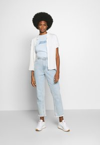 Marc O'Polo - SHORT SLEEVE - Print T-shirt - light blue - 1