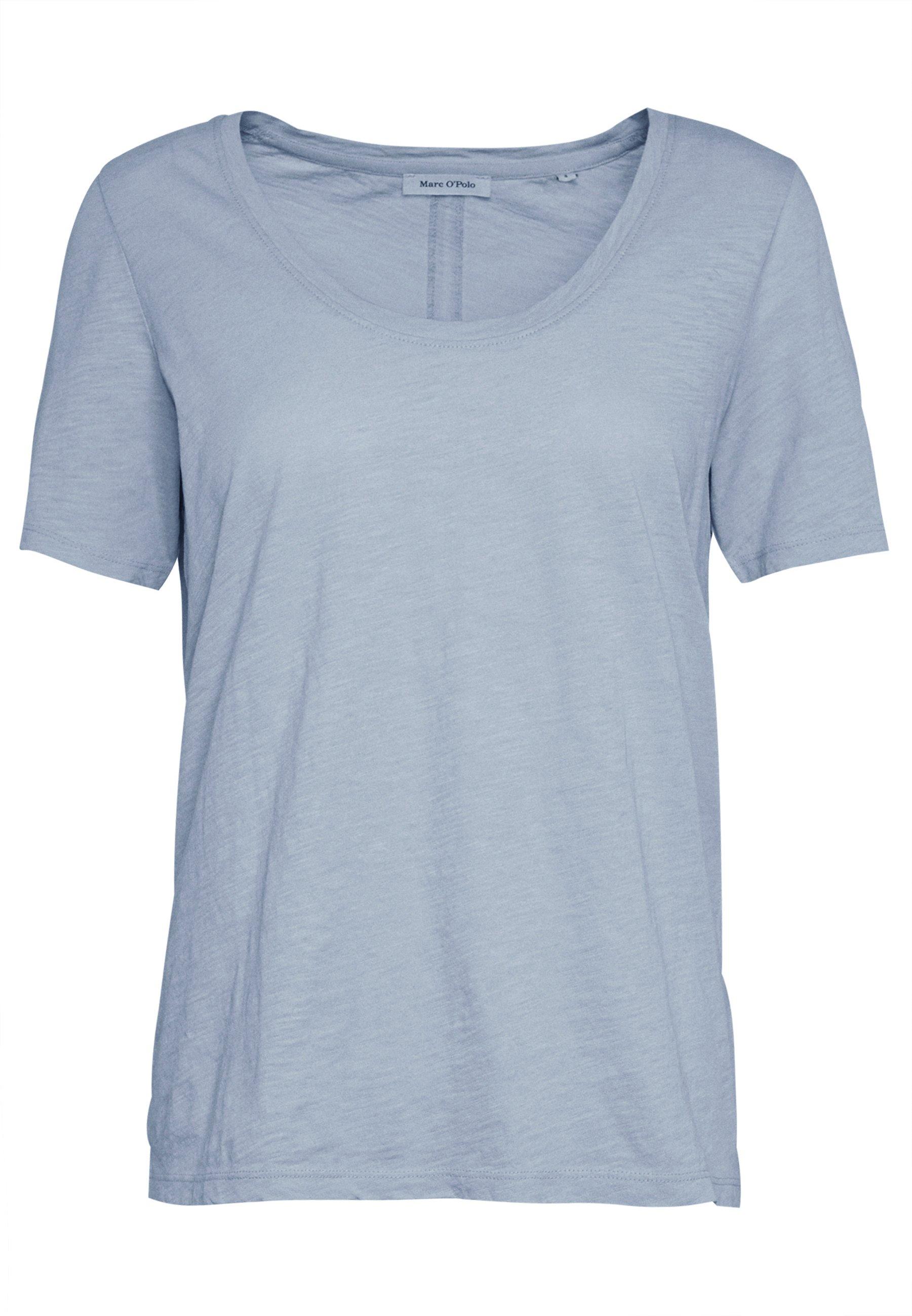 Marc O'polo T-shirt Short Sleeve Round Neck - Basic Light Blue
