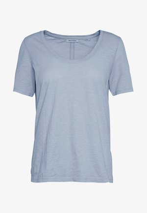 T-SHIRT, SHORT SLEEVE, ROUND NECK - Basic T-shirt - light blue