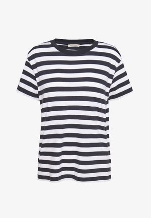 SHORT SLEEVE ROUND NECK - Basic T-shirt - multi/silent sea