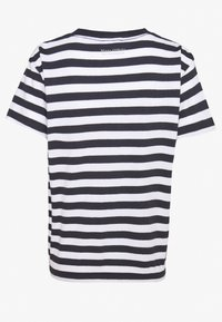 Marc O'Polo - SHORT SLEEVE ROUND NECK - Camiseta básica - multi/silent sea - 1