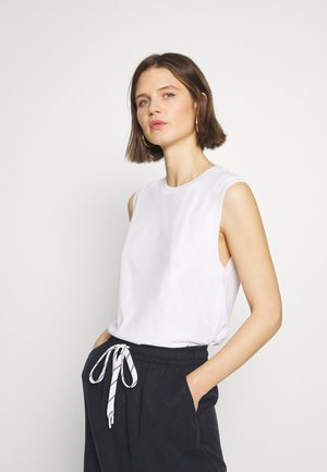 TANKTOP, ROUND NECK - Top - white
