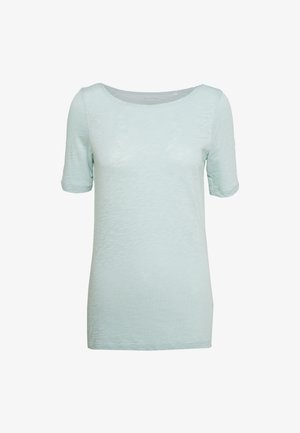 SHORT SLEEVE BOAT NECK - Basic T-shirt - misty spearmint