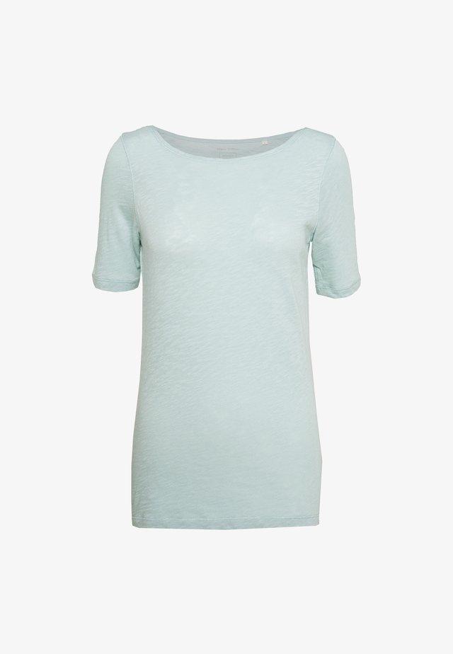 SHORT SLEEVE BOAT NECK - T-Shirt basic - misty spearmint