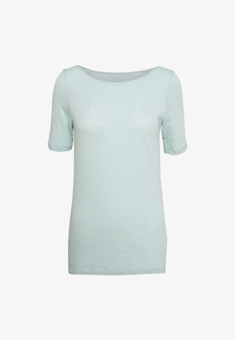 Marc O'Polo - SHORT SLEEVE BOAT NECK - Basic T-shirt - misty spearmint