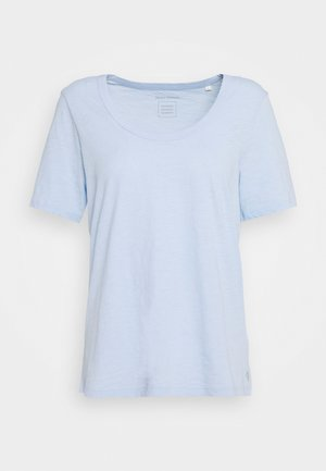 SHORT SLEEVE - Jednoduché triko - light blue