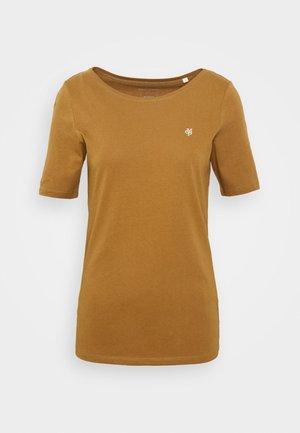 SHORT SLEEVE ROUNDNECK - Camiseta básica - deep tobacco