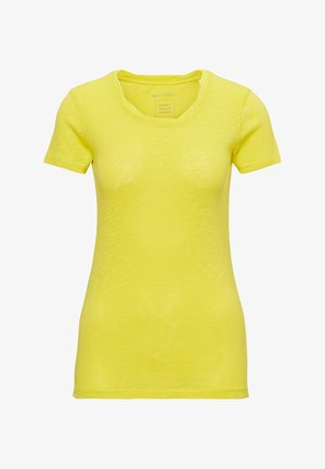 MARC O'POLO T-SHIRT AUS ORGANIC COTTON-JERSEY - T-shirt basic - sunny lime