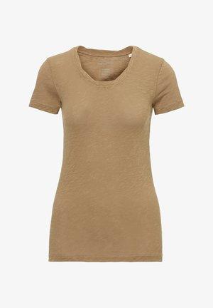 MARC O'POLO T-SHIRT AUS ORGANIC COTTON-JERSEY - T-Shirt basic - shaded walnut