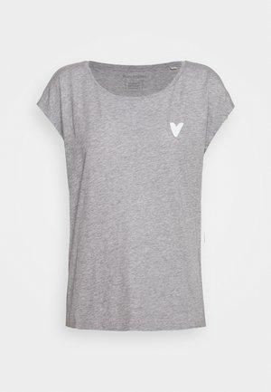 SHORT SLEEVE - Print T-shirt - slate sky melange