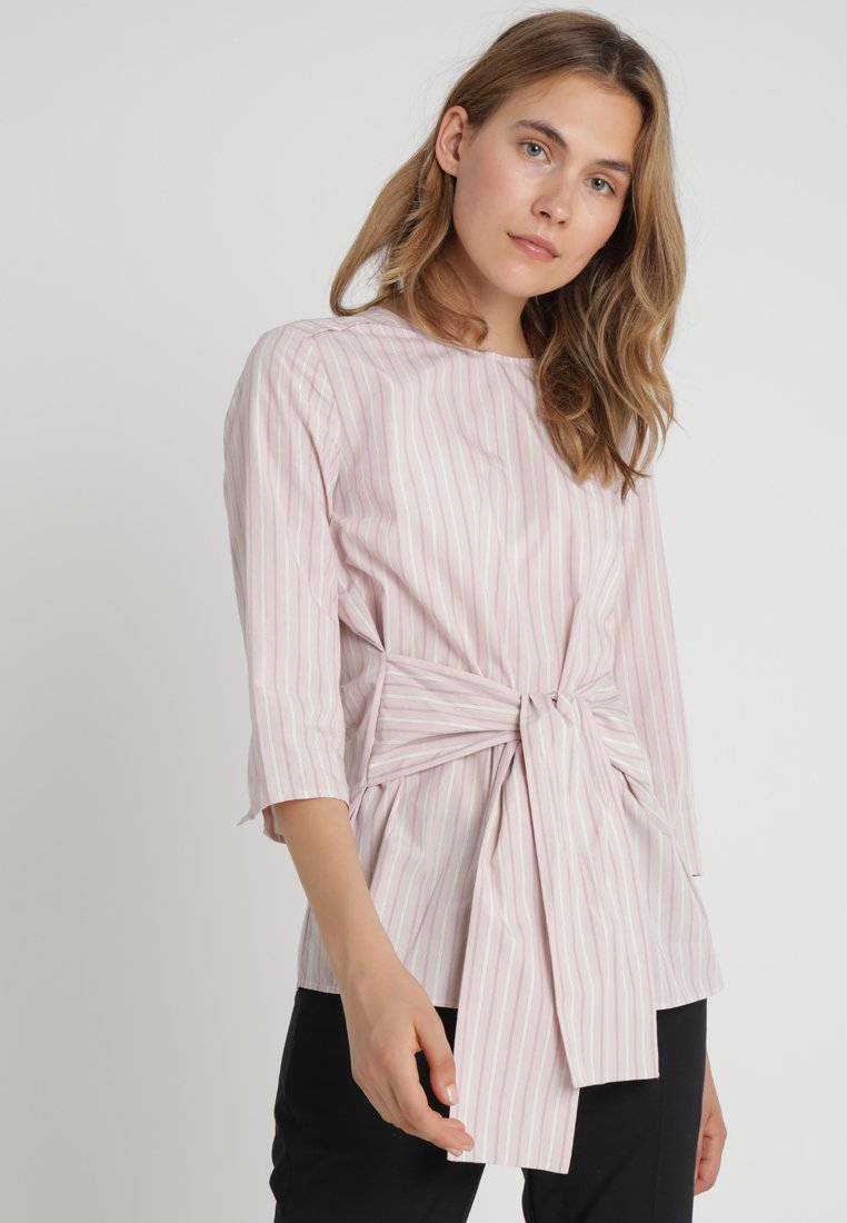Marc O'Polo - BLOUSE WITH BINDING DETAIL - Bluse - rose