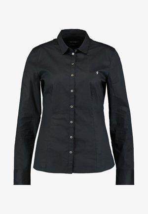 BLOUSE CLASSIC STYLE - Overhemdblouse - black