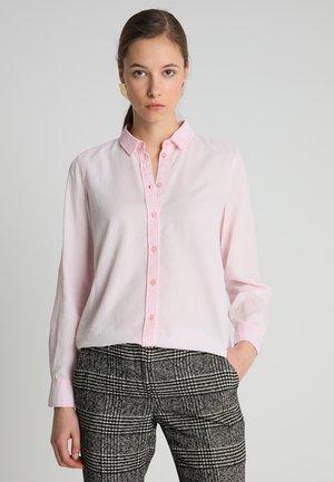 BLOUSE NORMAL SHAPE PLEAT DETAIL - Camisa - fresh peach