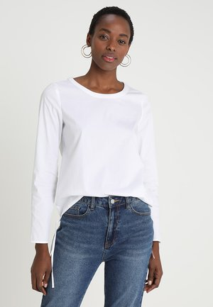 BLOUSE SPORTY FIT - Blůza - white