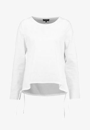 BLOUSE SPORTY FIT - Blouse - white
