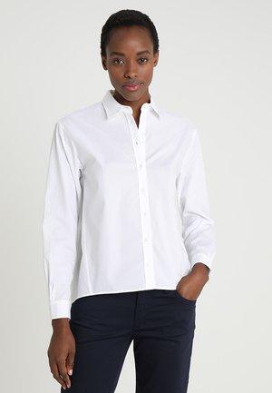 BLOUSE LONG SLEEVED - Skjorta - white