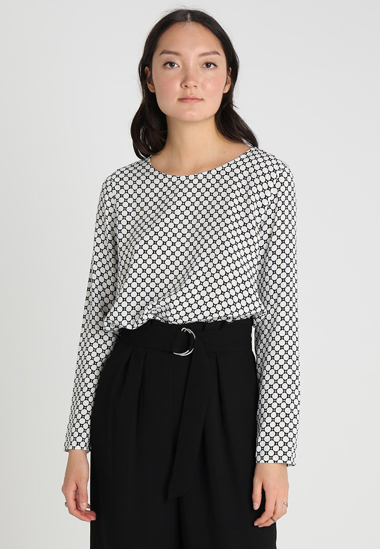 Marc O'Polo - BLOUSE SHIRT STYLE LOOSE FIT - Blouse - combo