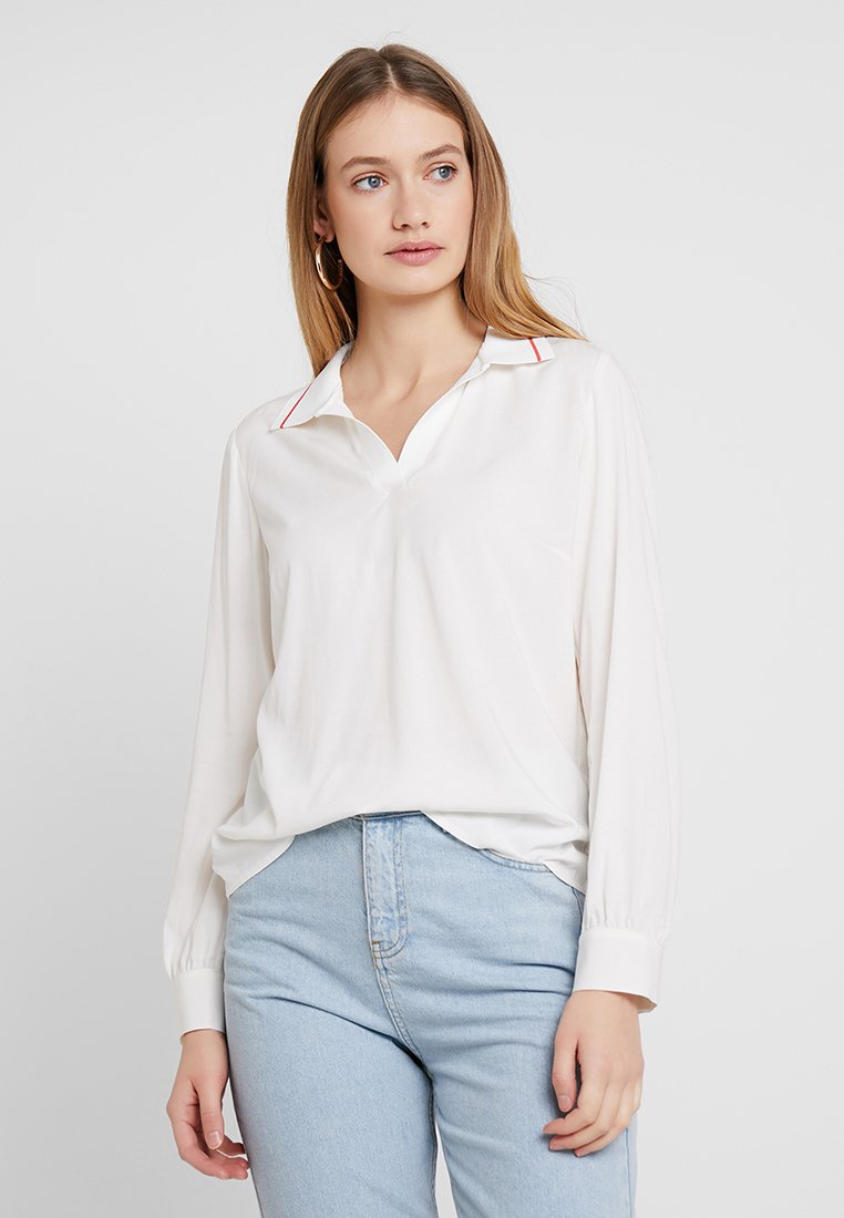 Marc O'Polo - BLOUSE FLAT - Blusa - optic white