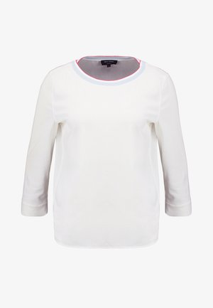 BLOUSE STYLE WITH TAPE - Camicetta - optic white