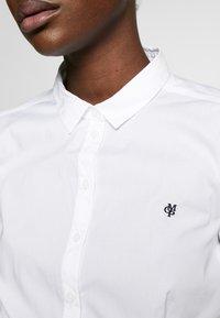 Marc O'Polo - CLASSIC STYLE SLIM - Skjorte - white - 5