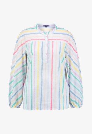 BLOUSE LONG SLEEVED STRIPED - Blouse - multi-coloured