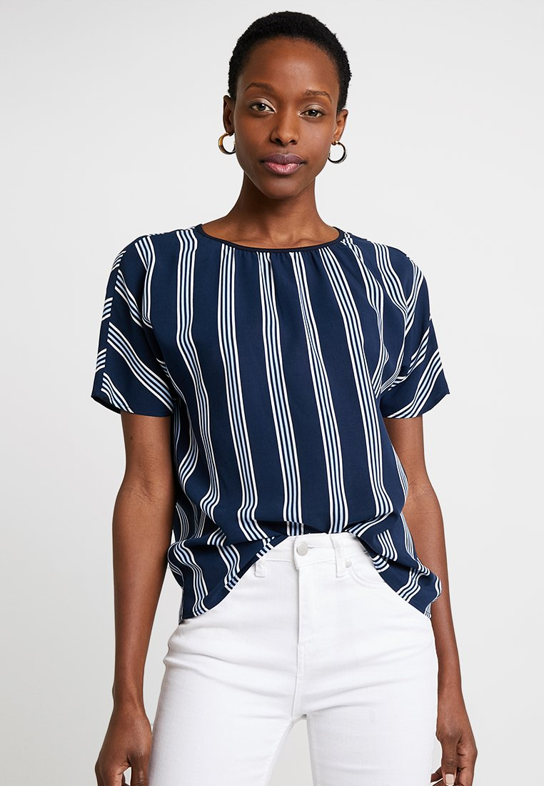 Marc O'Polo - BLOUSE SHORT SLEEVED - Bluser - combo