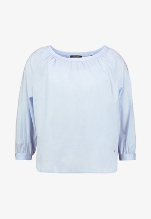 BLOUSE SLEEVE STITCHING - Bluse - light blue