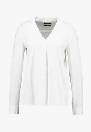 BLOUSE V-NECK LONG SLEEVED - Blouse - off white