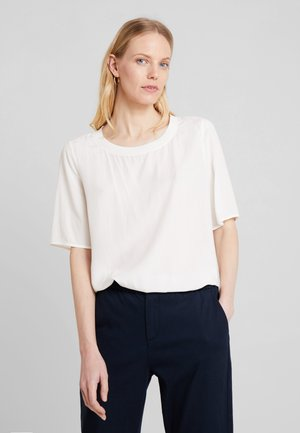 BLOUSE CREW NECK - Blůza - off white