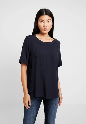 BLOUSE CREW NECK - Blouse - midnight blue