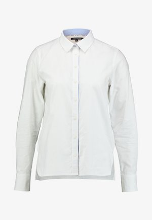 BLOUSE LONG SLEEVED - Button-down blouse - off white