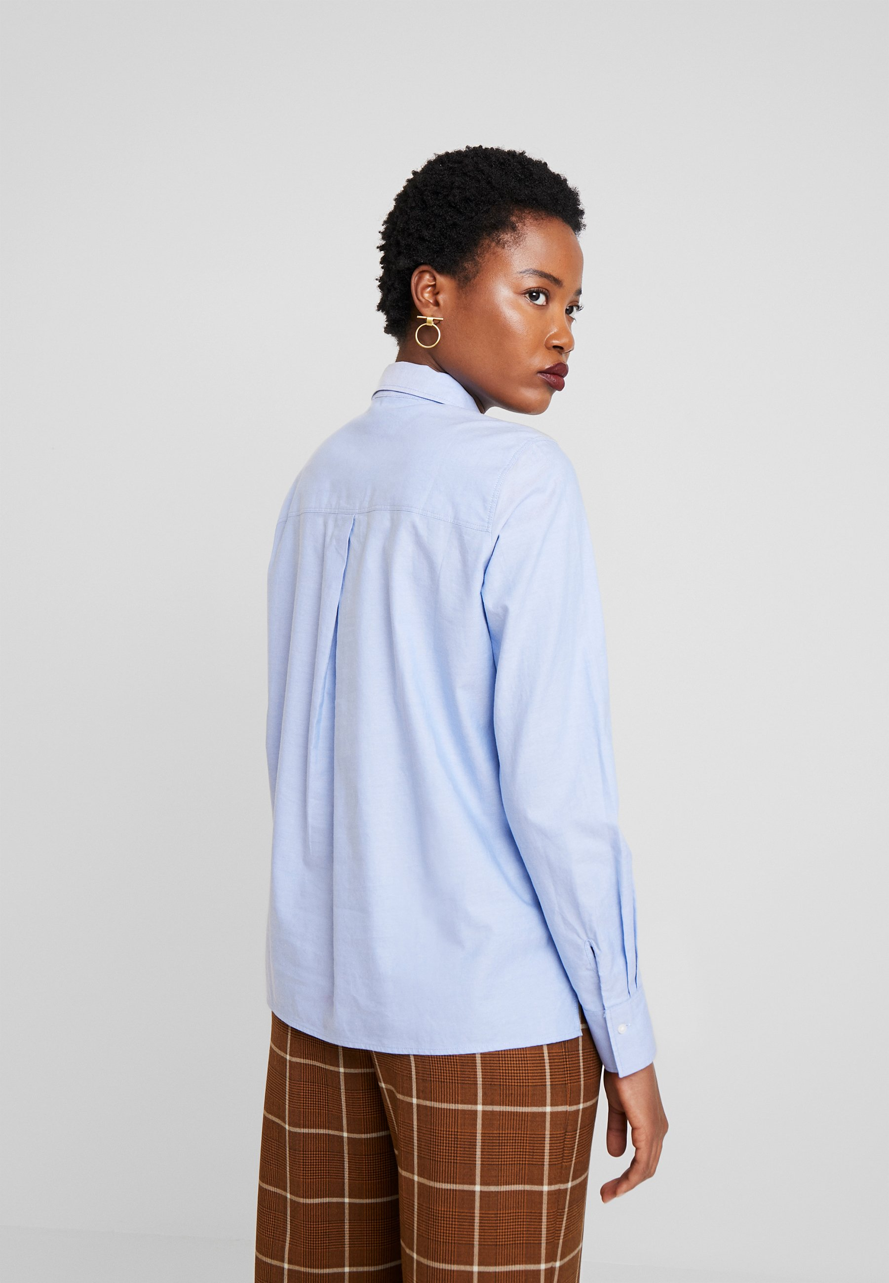 Marc O'Polo BLOUSE LONG SLEEVED - Skjorte - spring sky