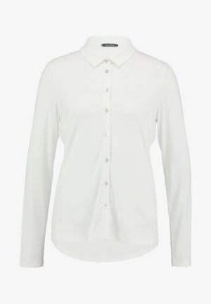 BLOUSE LONG SLEEVE COLLAR - Button-down blouse - soft white