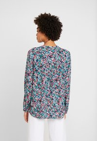 Marc O'Polo - BLOUSE OPEN V NECK LONG SLEEVED - Bluzka - multi-coloured - 2
