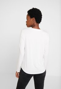 Marc O'Polo - BLOUSE CREW NECK LONG SLEEVED - Pusero - off white - 2