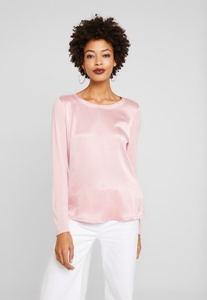 BLOUSE CREW NECK LONG SLEEVED - Bluzka - strawberry cream