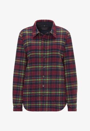 SURCHEMISE - Button-down blouse - purple
