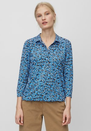 BLOUSE 3 4-SLEEVE PLACKET WITH COLLAR - Blouse - white