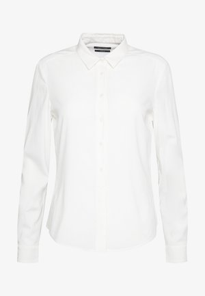 BLOUSE COLLAR LONG SLEEVED - Blouse - off white