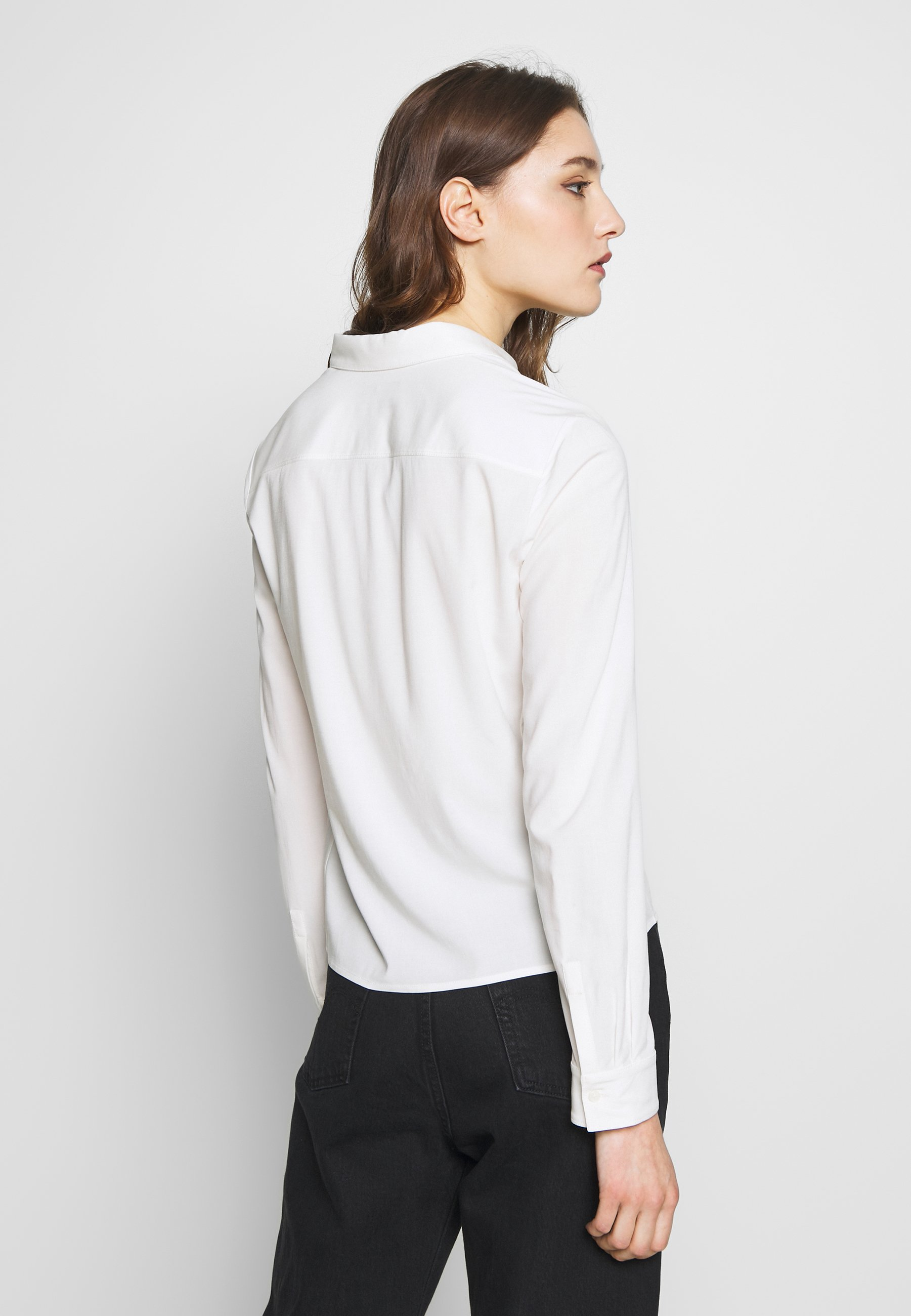 Marc O'polo Blouse Collar Long Sleeved - Off White UK