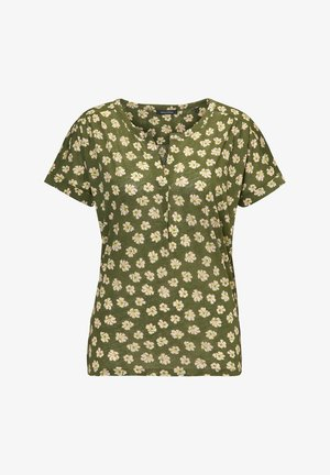 SHORT SLEEVE - Blouse - multi/soaked moss
