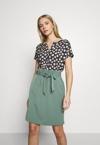 Marc O'Polo - SHORT SLEEVE - Blouse - dark blue - 0