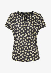 Marc O'Polo - SHORT SLEEVE - Blouse - dark blue - 4