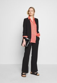 Marc O'Polo - BLOUSE LONG SLEEVED EASY SHAPED CHEST POCKET - Blouse - salty peach - 1