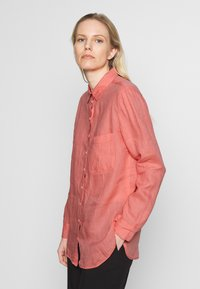 Marc O'Polo - BLOUSE LONG SLEEVED EASY SHAPED CHEST POCKET - Blouse - salty peach - 3
