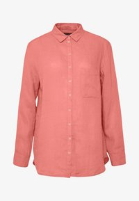 Marc O'Polo - BLOUSE LONG SLEEVED EASY SHAPED CHEST POCKET - Blouse - salty peach - 4