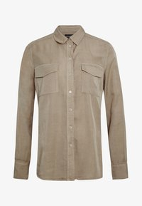 Marc O'Polo - BLOUSE LONG SLEEVE PATCHED POCKETS - Skjorte - swedish pine - 4