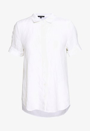 BLOUSE SHORT SLEEVE BUTTON THROUG STYLE - Koszula - white